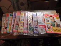 Gurgle Magazine for Mums - Job lot 11 in total some in wrappers