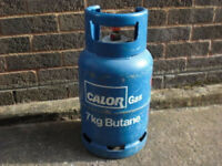Calor gas butane 7kg caravan camping gas bottle