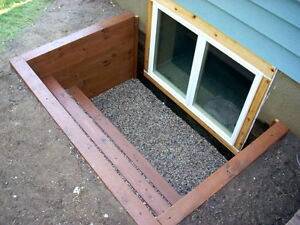Egress window cutting and concrete services Regina Regina Area image 2