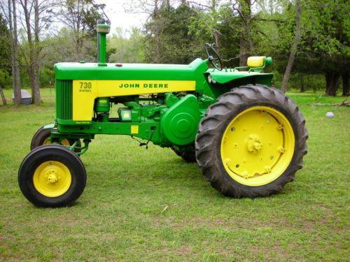 Old John Deere Tractor Parts : Antique john deere tractors ebay
