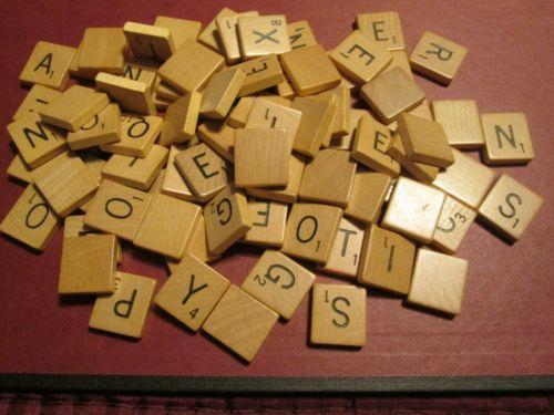 Wooden craft letters ebay for Small wooden letters for crafts