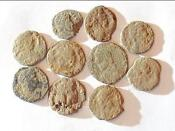 Roman Coin Uncleaned Lot
