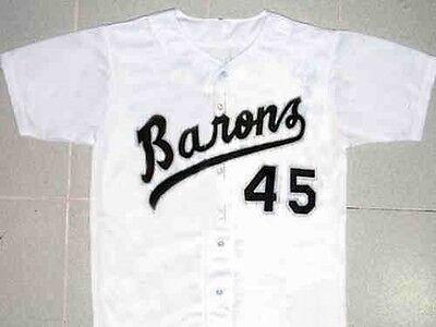MICHAEL JORDAN #45 BIRMINGHAM BARONS BASEBALL JERSEY NEW SEWN ANY SIZE