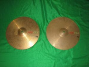 "Meinl Profile 14"" Volcanic Rock hi-hats"