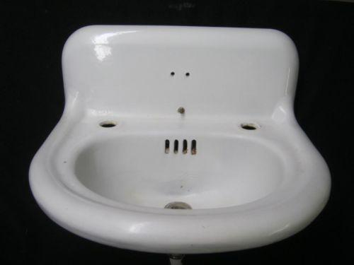 Vintage Porcelain Bathroom Sinks Ebay