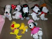 Snoopy Plush Lot