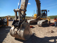 Excavator Thumbs, Rakes, Grapples and Couplers FOR SALE