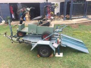 golf buggy and trailer. Gympie Gympie Area Preview
