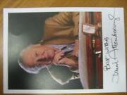 David Attenborough Signed