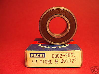 Nachi 6002 2nsense Deep Groove Roller Bearing 6002 2rs