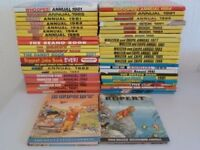 BEANO, DANDY, BASH STREET KIDS, WHIZZER AND CHIPS, BUSTER, KRAZY and MANY MORE