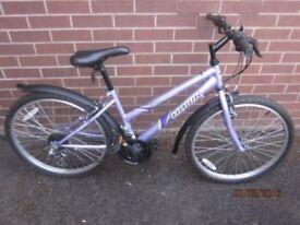 "Girl's bicycle, 20""wheel bike, plus accessories, vguc"