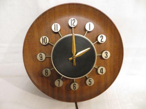 Spartus Clock Ebay