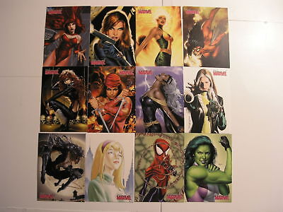 2008 Women of Marvel set 1 with 81 Cards by Rittenhouse