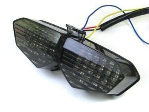 Smoked LED Tail Light Turn Signals Yamaha YZF R6 03-05 YZF R6S 06-08 Ruckus
