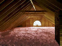 Attic Insulation (Blown-in, Detailed pro*:) Guelph & Tri-Cities