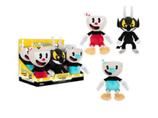 "AUTHENTIC NEW FUNKO CUPHEAD 8"" PLUSH , MUGMAN AND THE DEVIL"