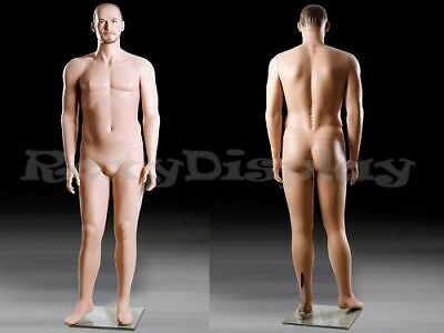 Realistic Male Mannequin With Molded Hair Mz-mik04
