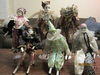 Large Collection Of Clowns And Clown Music Boxes