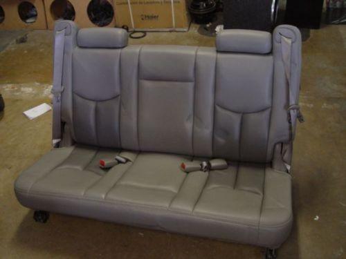 Yukon 3rd Row Seat Ebay