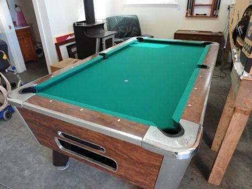 Valley Pool Table EBay - 9ft diamond pool table