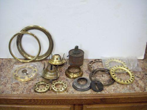 Vintage Brass Lamp Parts Ebay