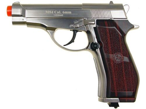 WG M84 Silver CO2 Non-Blowback Airsoft Pistol