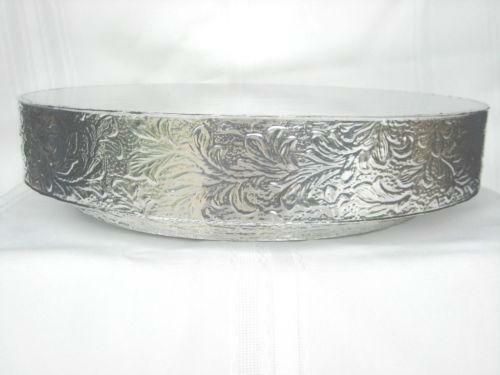 16 inch silver round wedding cake stand 16 quot silver cake stand ebay 10058