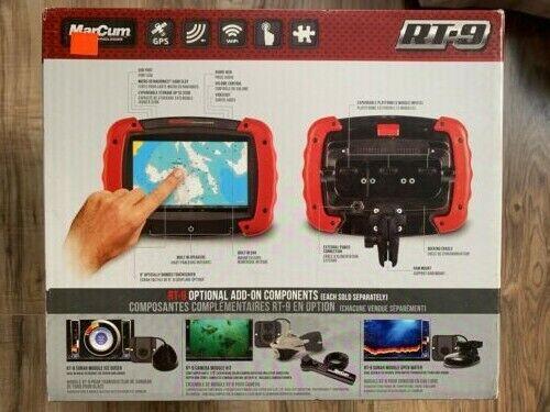 Marcum RT-9 Ice Sonar GPS Transducer Combo: Tablet, Ducer, P