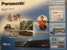 Panasonic DMR-HWT130 Freeview+ HD Hard Disk Recorder 500GB Brand new sealed