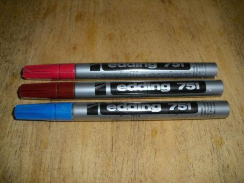 edding paint marker ebay. Black Bedroom Furniture Sets. Home Design Ideas