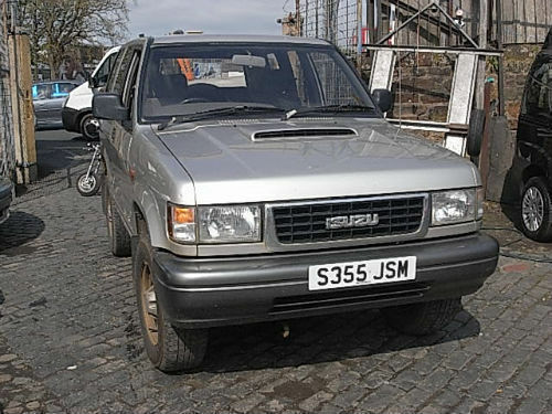 Isuzu Trooper 3 1TD Duty 4x4 UK delivery PX Swap Spates or