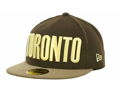 New Era Toronto Foodie Custom 59FIFTY Fitted Cap Hat $35