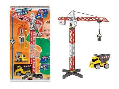 Dickie Building Team batteriebetriebenen Kran Hafenkran Großer Baukran Spielzeug