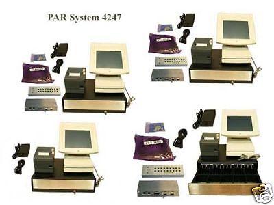 Par M4247 Complete 4 Terminal Par Pos System
