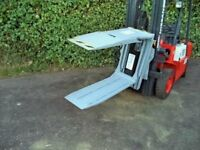 Cascade class 2 rotating bale clamp attachment for forklift trucks. Not Kaup