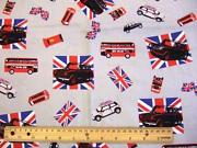 London Bus Fabric
