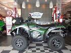 Green ATVs
