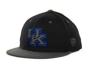 TOW-86-CONFIDENTIAL-FITTED-NCAA-HAT-CAP-UNIVERSITY-OF-KENTUCKY-WILDCATS