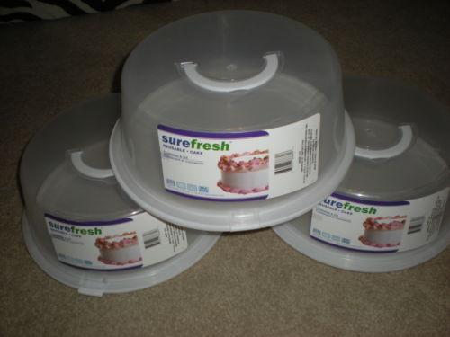 Tall Plastic Cake Carrier