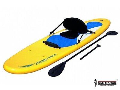 Tavola da Sup o kayak gonfiabile Rip Tide Hydro-Force tavola surf da seduto