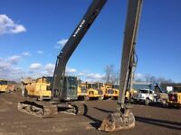 Volvo 240 Long reach excavator