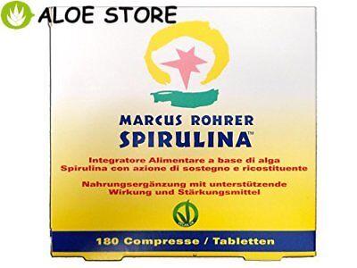 MARCUS ROHRER ALGA SPIRULINA da 180 compresse RICARICA in foglio Miron