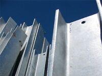 Steel Lintels & Kits, Glass Balustrade