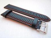 22mm Leather Watch Band