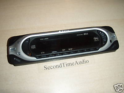 Sony CDX-L580X Faceplate Tested Good Guaranteed! for sale  Shipping to India