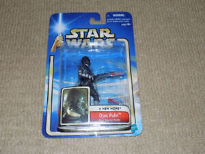STAR WARS, DJAS PUHR, A NEW HOPE, ACTION FIGURE, NEAR MINT