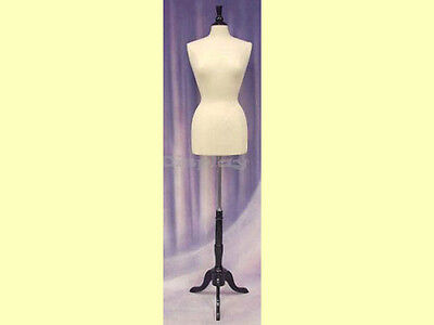Female Size 6-8 Form Mannequin Dress Form F68w Bs-02bkx