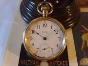 14ct Gold Pocket Watch