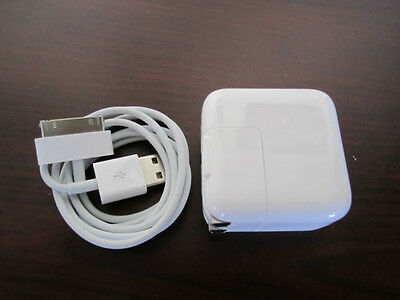 Genuine Original Apple iPad 1/2/3 Wall Charger USB power Adapter 10W Authentic